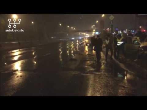 Ночное ДТП на пр.Бандеры 14.05.2017
