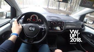 2018 New VW Up 1.0  60 4K | POV Test Drive #044 Joe Black
