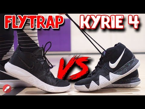 Nike Budget Kyrie Flytrap VS Kyrie 4! What's Better?!