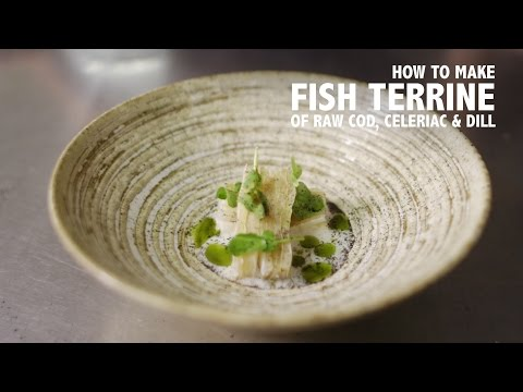 North Norfolk Sushi - How to Make a Terrine of Raw Cod, Celeriac & Dill