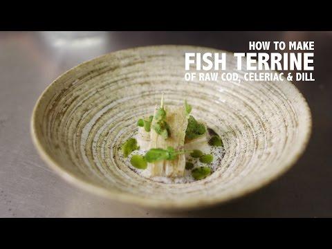 North Norfolk Sushi - How To Make A Terrine Of Raw Cod, Celeriac & Dill