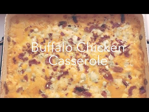 Buffalo Chicken Casserole| Crock Pot Meal|Campbell's Slow Cooker|