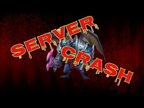 Castle Clash Server Crash!