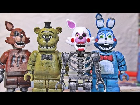Lego five nights at freddy s figures part 3 mangle youtube