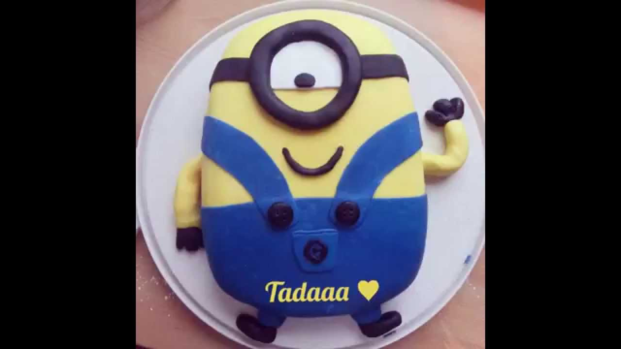 Minion Kuchen Backen Minion Torte Bilderanleitung