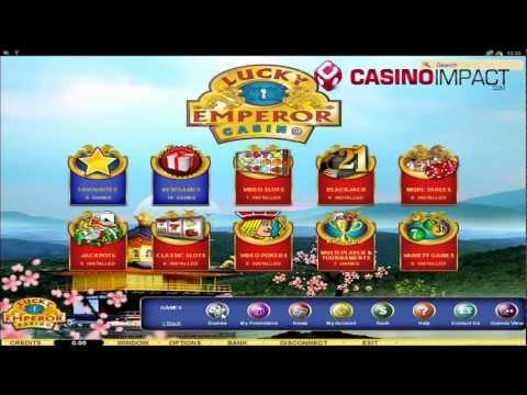 Lucky Emperor Casino video review by CasinoImpact.com