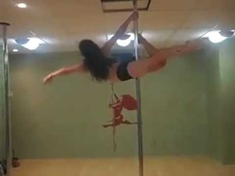 BEST POLE DANCE MOVE EVER 2 - YouTube