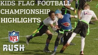 Highlights from Kids Flag Football Championships l NFL Rush