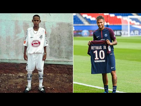 Neymar Jr - The Change Of Famous Brazilian Football Superstar From 1 To 25 Years Old