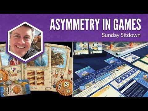 Asymmetry in Games (Sunday Sitdown)