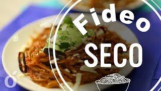 Fideo Seco Al Guajillo   Dry Noodles With Guajillo Sauce   Kiwilimon