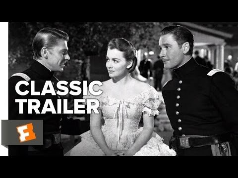 Santa Fe Trail (1940) Official Trailer - Errol Flynn, Ronald Reagan Western Movie HD