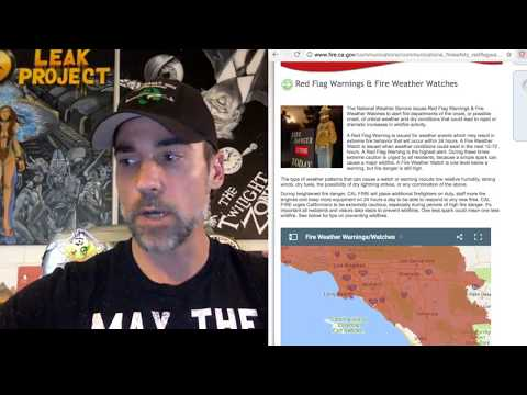 Los Angeles to San Diego, Red Flag, Extreme Fire Warnings, Stage II, Agenda 21?