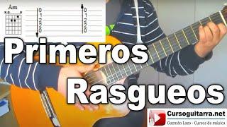 Rasgueos de Guitarra Tutorial Principiantes Fácil