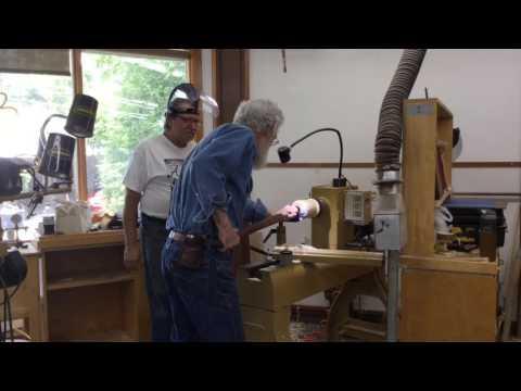 David Ellsworth : Arrowmont Workshop 2017