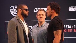 UFC Sao Paulo Media Day Staredowns - MMA Fighting