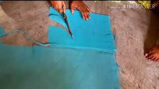 Katori vale blouse ki cutting and stitching step by step in hindi at home