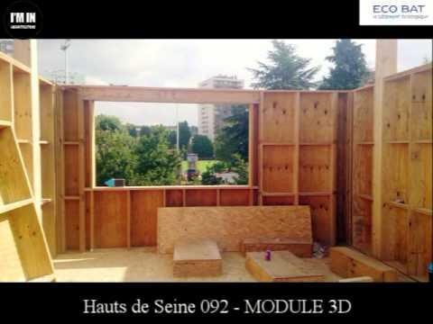 hauts de seine 092 maison architecte module 3d youtube. Black Bedroom Furniture Sets. Home Design Ideas