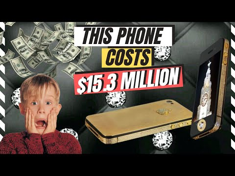The world's most expensive phone; costs $15.3 million!!! | Black Diamond iPhone!!!