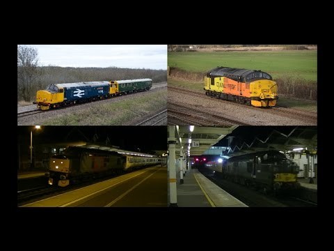 Midlands Motive Power Highlights   March 2017 HD