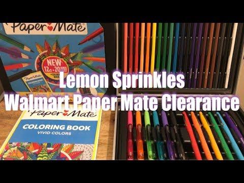 WALMART Paper Mate CLEARANCE Doodling Color Kit Flair Pens Ink Joy Pens Pencils