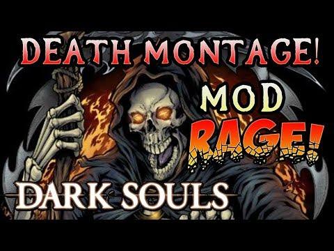 HARDEST SOULS MOD EVER! Dark Souls Ascension Mod Death Montage! (#2)