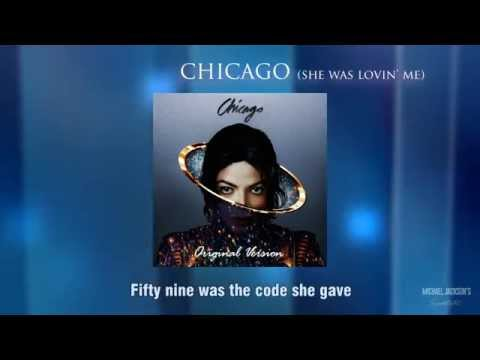 Michael Jackson - Chicago (She Was Lovin' Me) (Original) [Lyric Video]