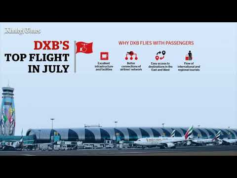 Dubai International Airport sees record traffic surge in July