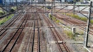 横浜羽沢貨物駅 2020.10.31.10:12『8860レ』西武40050系甲種輸送