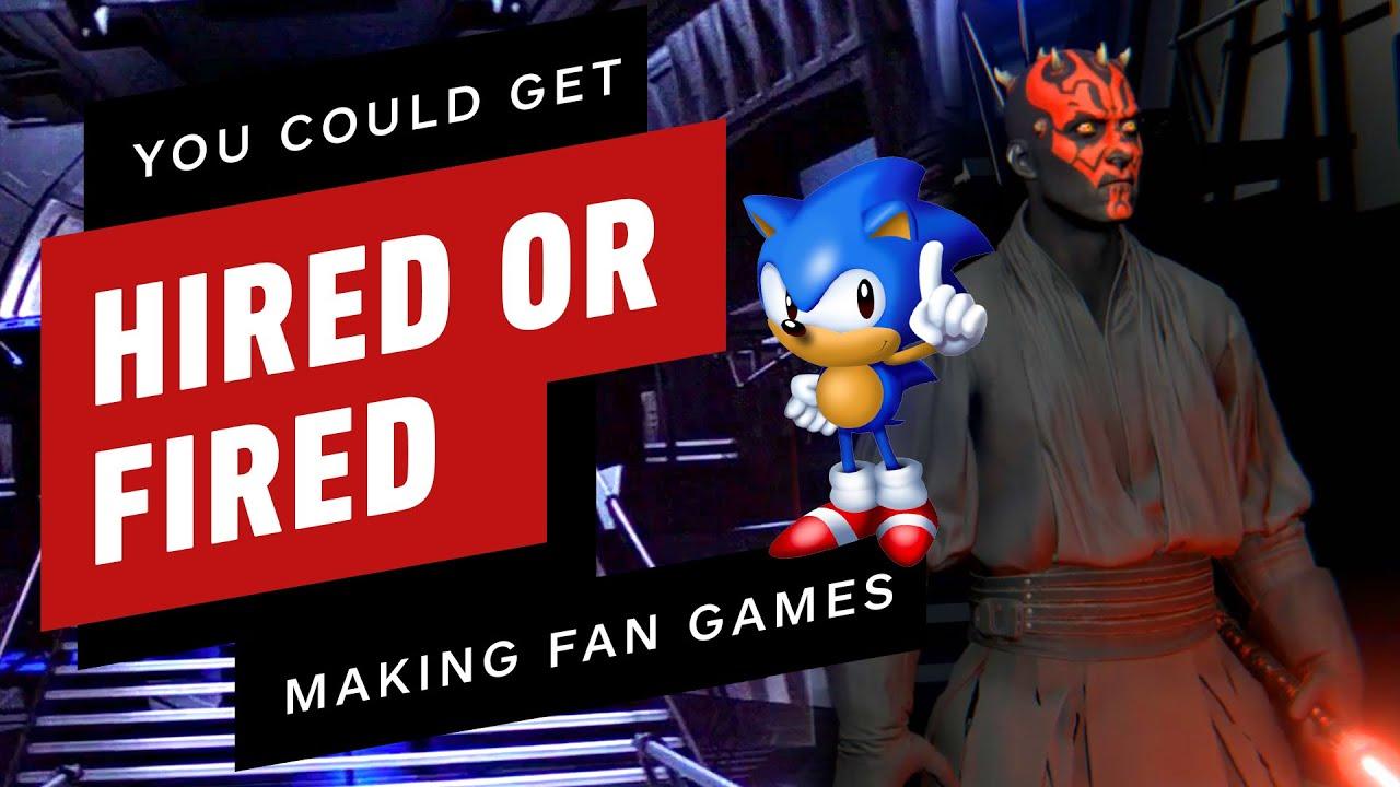 Des jeux vidéo conçus par des fans pourraient vous faire embaucher… ou renvoyer + vidéo