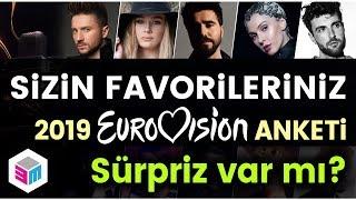 Eurovision 2019 - İzleyici Favorileri - Anket Sonuçları
