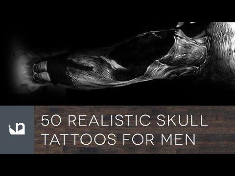 50 Realistic Skull Tattoos For Men