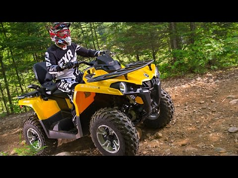 test ride 2015 can am outlander 450 l max dps youtube. Black Bedroom Furniture Sets. Home Design Ideas