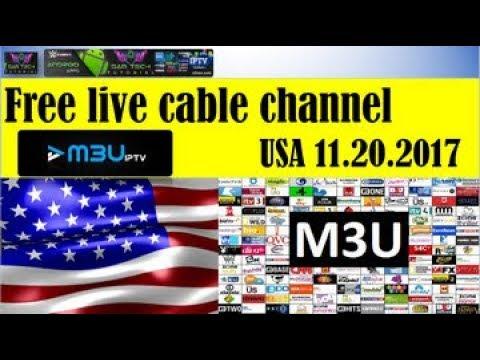 FREE USA IPTV M3U LINK 11 20 2017 WATCH LIVETV,KIDS,MOVIES,SPORT