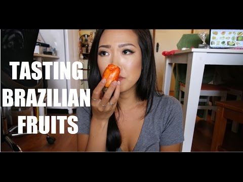 TASTING BRAZILIAN FRUITS!