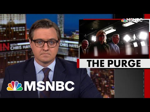 'Orwellian': Chris Hayes On GOP Move To Purge Cheney—And Truth From Their Party | All In | MSNBC