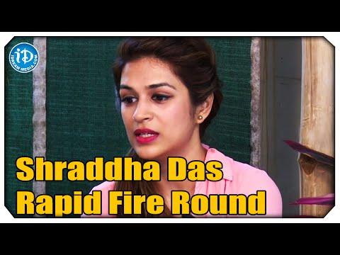 Shraddha Das Rapid Fire Round - Rey Movie Exclusive Interview    Sai Dharam Tej    YVS Chowdary