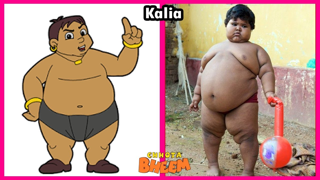 Download Chhota Bheem Characters In Real Life 2021💥Unbelievable