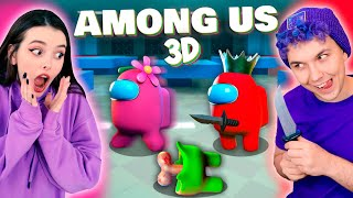 AMONG US в 3D - НАЙДИ ПРЕДАТЕЛЯ 😱 АМОНГ АС, но МЫ ПРОТИВ ПОДПИСЧИКОВ 🔥 @Вэлл