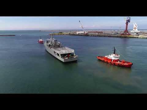 Le nouveau patrouilleur de la marine portugaise