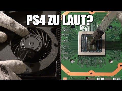 PlayStation 4 / PS4 Pro / Slim reinigen, Lüfter säubern & Wärmeleitpaste tauschen (leiser machen) 🔧