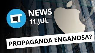 Apple condenada por propaganda enganosa no Brasil; LG anuncia Q6 e+ [CT News]
