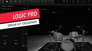 How to Use Drum Kit Designer | Logic Pro X | Tutorial | Beginner