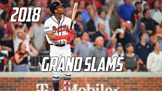 MLB | Grand Slams of 2018