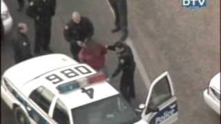 полиция поймала преступника. police