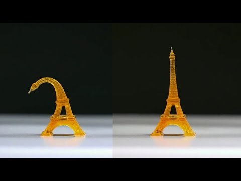 4D printed structures remember shape