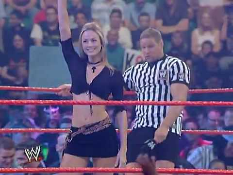 stacy keibler entrance - YouTube