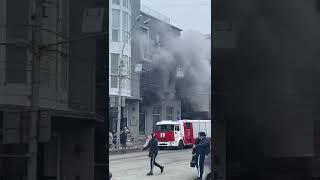 Пожар на Красном  проспекте, 29