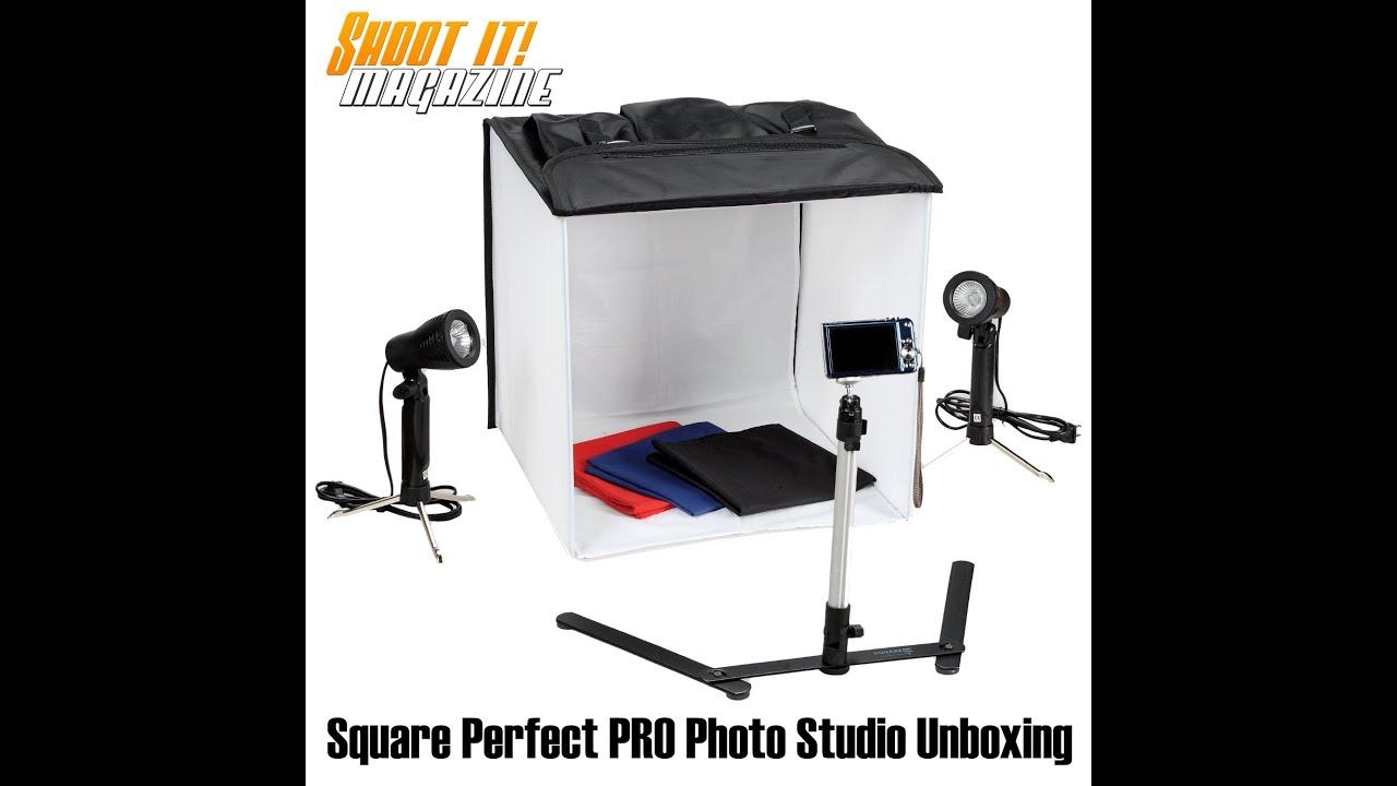 Square Perfect Pro Series Photo Studio Softbox Unboxing Youtube