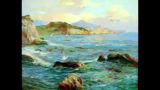 Научиться рисовать море, курсы живописи маслом, Сахаров